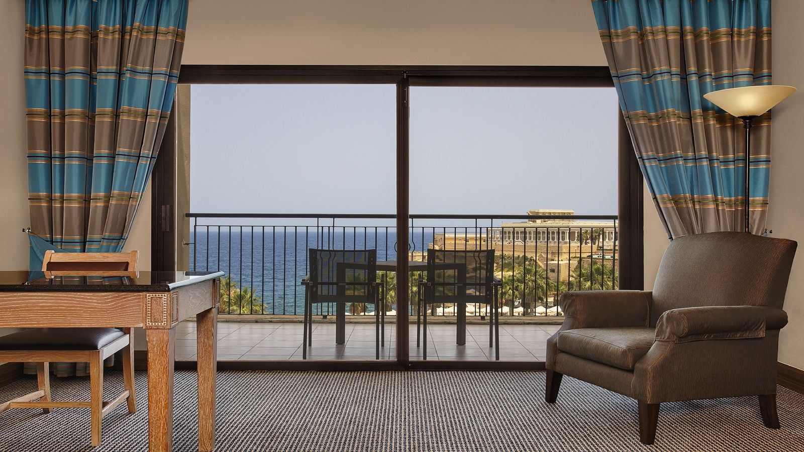beautiful sea views from your own room
