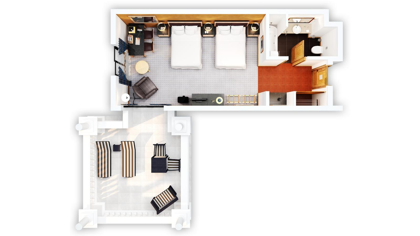 Tower Room Floor Plan