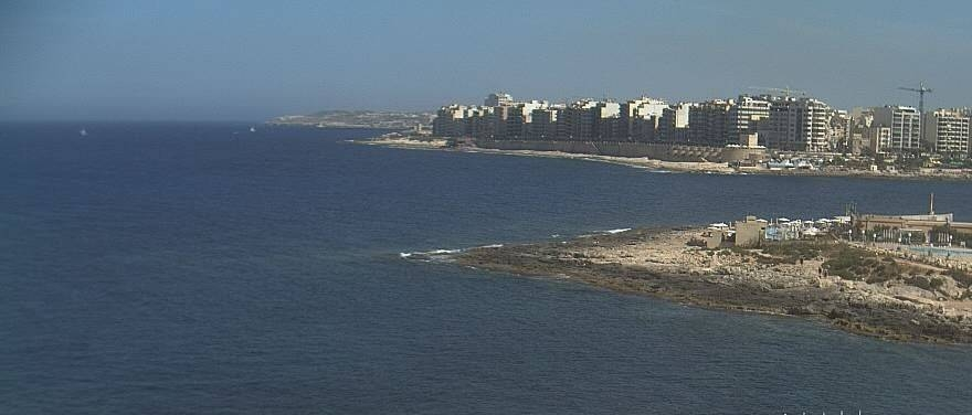 A favourite over the Maltese coastline from The Westin Malta